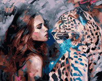 Leopard Diy Paint By Numbers Kits VM30081 ZXQ3501