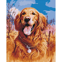 Dog Diy Paint By Numbers Kits PBN52132