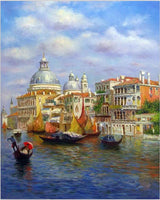 Water Venice Diy Paint By Numbers Kits PBN52614