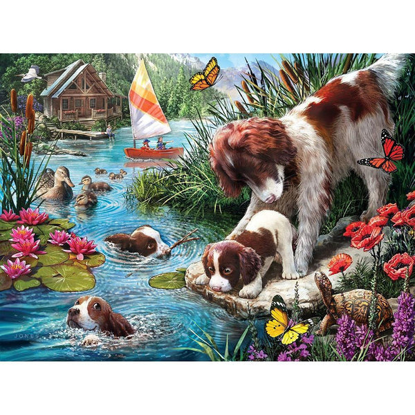 Dog Diy Paint By Numbers Kits PBN54157
