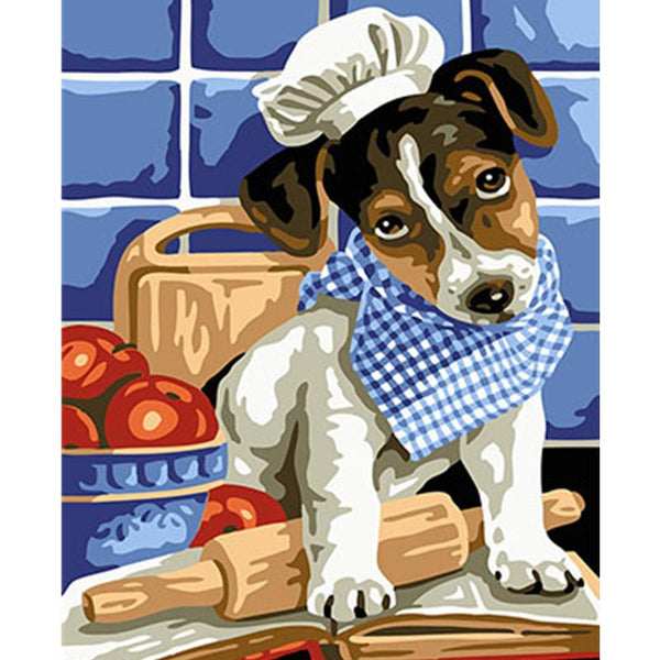 Dog Diy Paint By Numbers Kits PBN70271