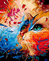 Cat Diy Paint By Numbers Kits VM90550