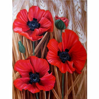 Flower Diy Paint By Numbers Kits PBN90562