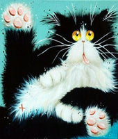 Pet Cat Diy Paint By Numbers Kits VM90605