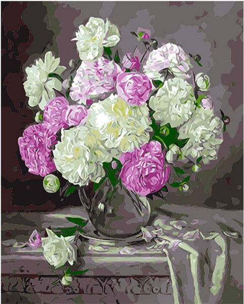 Flower Paint By Numbers Kits PBN90994