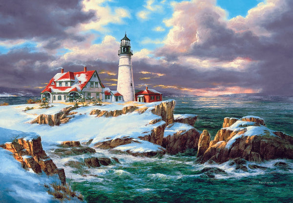 Landscape Lighthouse Diy Paint By Numbers Kits ZXQ2340-19