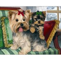 Dog Diy Paint By Numbers Kits PBN95249