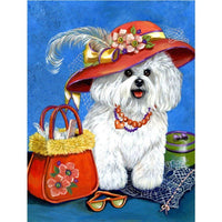 Dog Diy Paint By Numbers Kits PBN95560