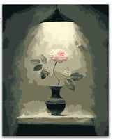 Rose Flower Diy Paint By Numbers Kits PBN95578