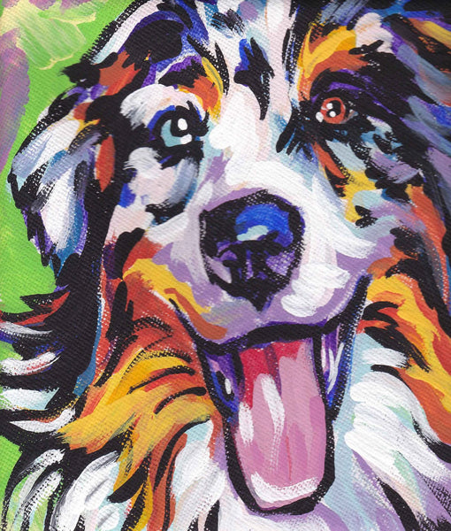 Colorful Dog Diy Paint By Numbers Kits VM97840