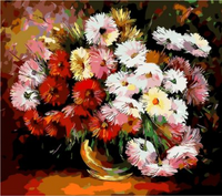 Chrysanthemum Diy Paint By Numbers Kits ZXQ087