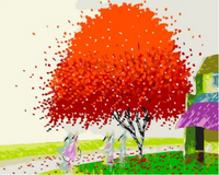 Landscape Tree Diy Paint By Numbers Kits ZXQ471