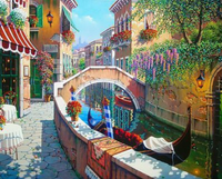 Landscape Town Diy Paint By Numbers Kits ZXQ571-27