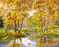 Landscape Forest Diy Paint By Numbers SY-4050-040