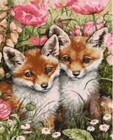 Animal Fox Diy Paint By Numbers Kits ZXQ2400