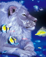Animal Lion Paint By Numbers Kits PBN90987