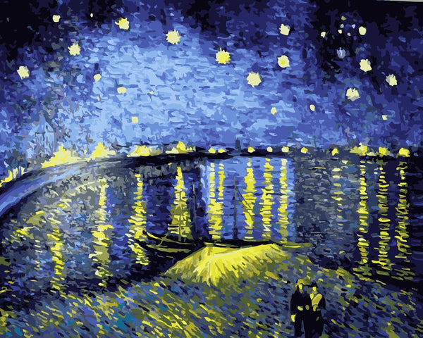 Rhone River Under The Star Diy Paint By Numbers Kits WM-057