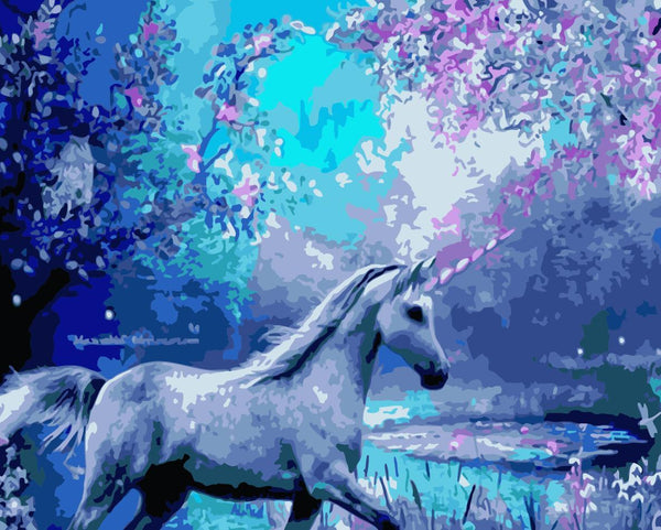 Unicorn Diy Paint By Numbers Kits WM-1109