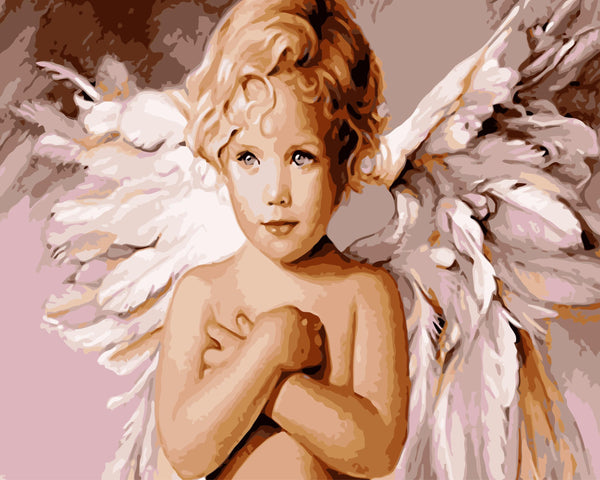 Angel Diy Paint By Numbers Kits WM-125 ZXQ308