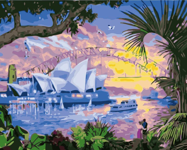 Sydney Diy Paint By Numbers Kits WM-199