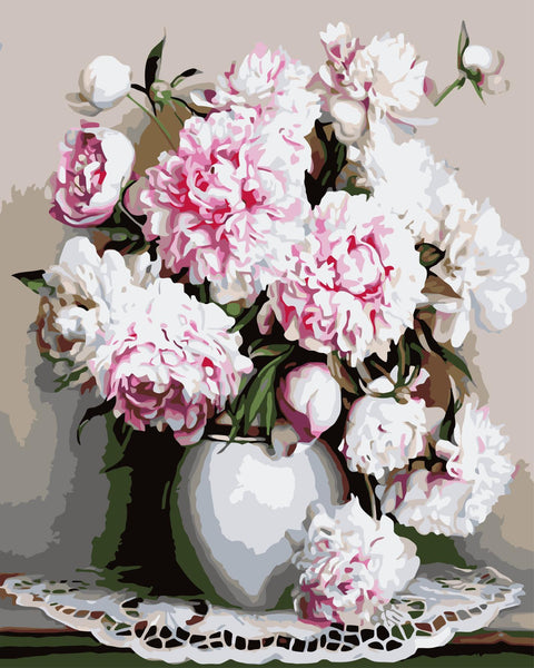 Peony Diy Paint By Numbers Kits WM-270