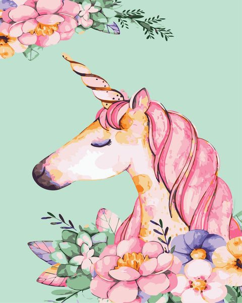 Unicorn Diy Paint By Numbers Kits WM-379