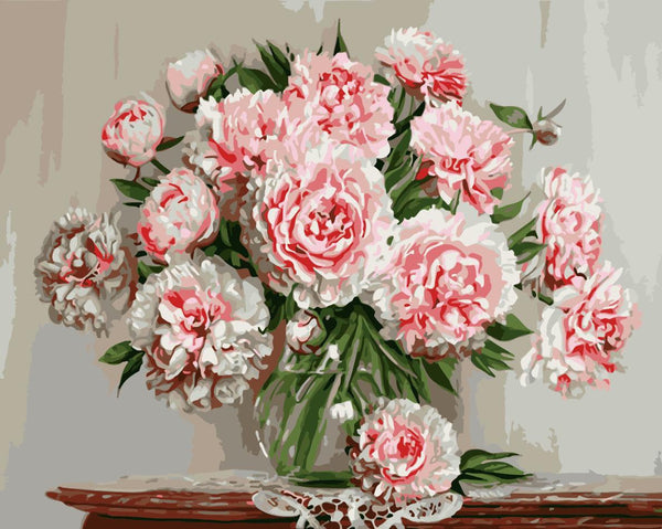 Peony Diy Paint By Numbers Kits WM-846