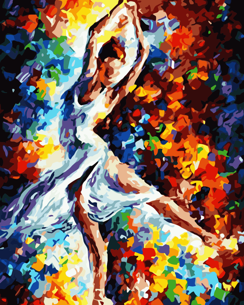 Dancer Diy Paint By Numbers Kits WM-886