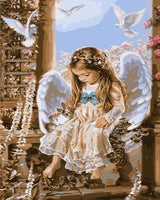 Angel Diy Paint By Numbers Kits WM-989 ZXG425