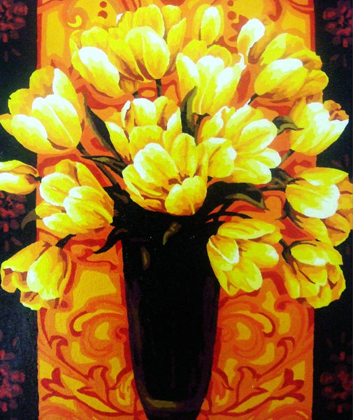 Tulips Diy Paint By Numbers Kits YM-4050-004