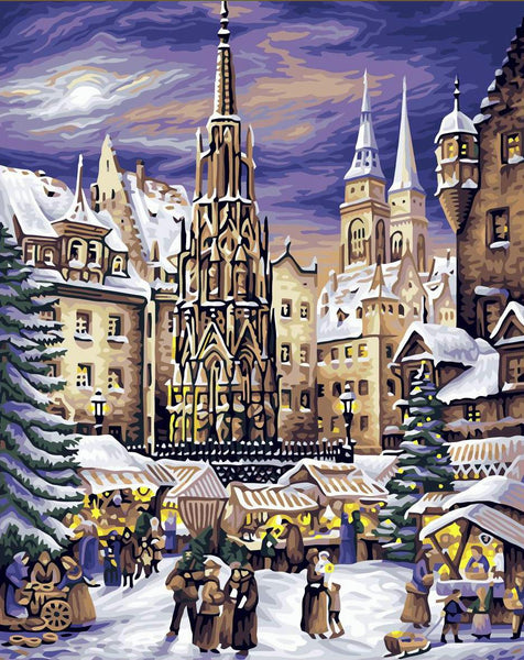 Landscape Nuremberg Diy Paint By Numbers Kits YM-4050-022