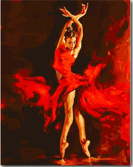 Dancer Diy Paint By Numbers Kits YM-4050-127