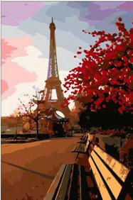 Eiffel Tower Diy Paint By Numbers Kits YM-4050-177