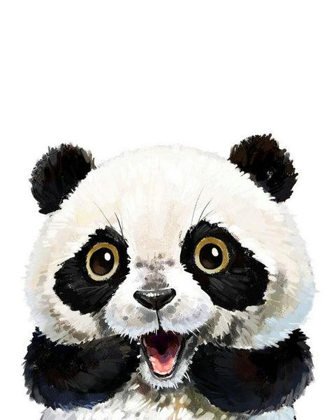 Lovely Panda Diy Paint By Numbers Kits YM-4050-314