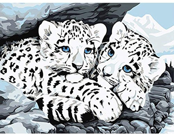 Leopard Diy Paint By Numbers Kits PBN30080