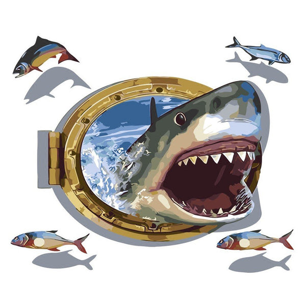 Shark Diy Paint By Numbers Kits PBN30253