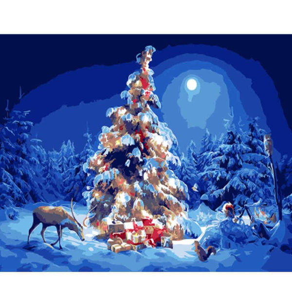Christmas Paint by Numbers Kits DIY PBN30275