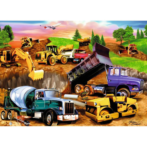 Truck Diy Paint By Numbers Kits PBN30280