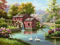Landscape Village Diy Paint By Numbers Kits PBN91134