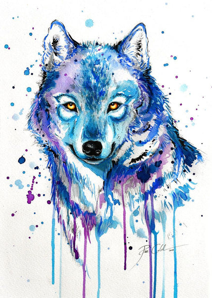 Wolf Diy Paint By Numbers Kits VM91530