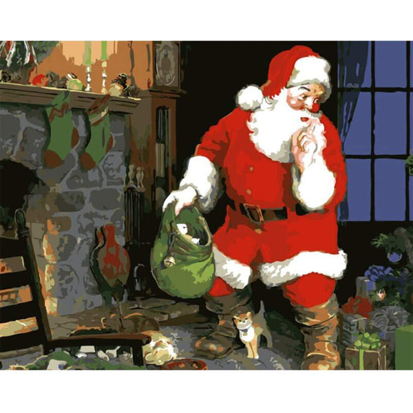 Christmas Diy Paint By Numbers Kits PBN94659