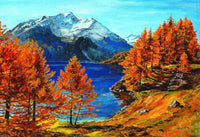 Landscape Mountain Diy Paint By Numbers Kits PBN97907