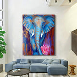 Animal Elephant Diy Paint By Numbers Kits PBN92284