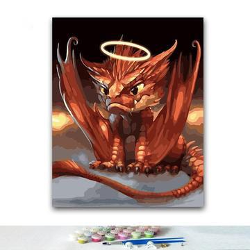 Dragon Diy Paint By Numbers Kits PBN94382
