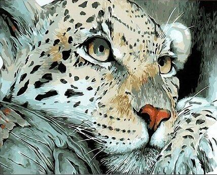 Leopard Diy Paint By Numbers Kits PBN30092