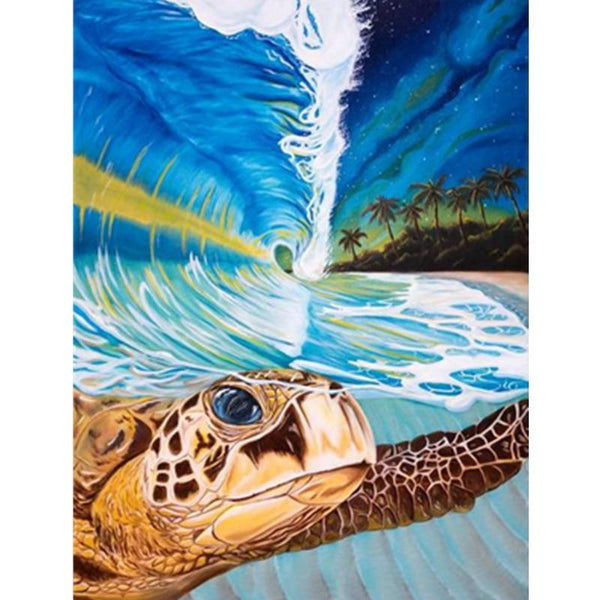 Turtle Diy Paint By Numbers Kits PBN30244