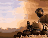 Grand Buddha Diy Paint By Numbers Kits PBN94834