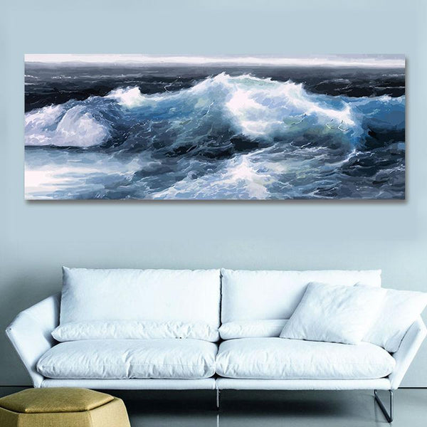 Sea Wave Diy Paint By Numbers Kits VM95657