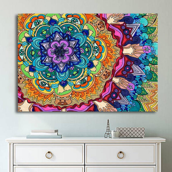 Mandala Diy Paint By Numbers Kits VM95550