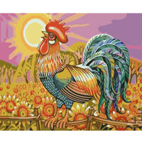 Cock Diy Paint By Numbers Kits PBN97591